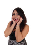 Laughing young happy woman. Stock Photography