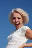 Laughing young woman Royalty Free Stock Photo