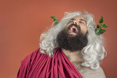 Laughing Zeus Royalty Free Stock Photography