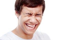 Laughter closeup Stock Photos