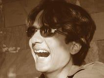laughtertumult Fotografering för Bildbyråer