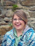 laughting девушки предназначенный для подростков Стоковые Изображения RF