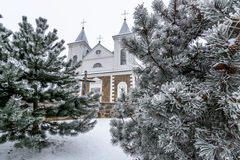 Laukuva church detail Royalty Free Stock Photography