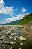 Laulong город River Valley, Kaohsiung, Тайвань Стоковые Изображения