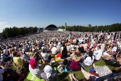 2014 Laulupidu piosenki festiwal Zdjęcie Stock