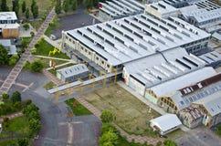 Launceston Museum aerial view Stock Photos