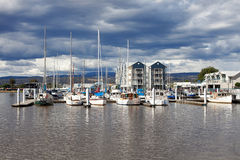 Launceston port morski Fotografia Royalty Free