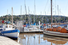 Launceston Seaport Royalty Free Stock Image