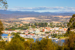 Launceston Tasmanien Australien Royaltyfri Bild