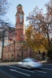 launceston zamazany taxi Tasmania zdjęcie royalty free