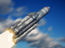 Launch. Royalty Free Stock Photography