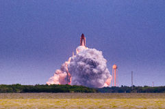 Launch of Atlantis-STS-135 Stock Image