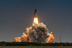 Launch of Atlantis-STS-135 Stock Photography