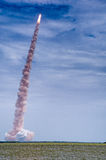 Launch of Atlantis - STS-135 Stock Image