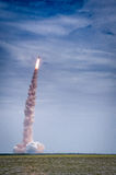 Launch of Atlantis - STS-135 Stock Photography