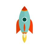 Launch. Beginning, launch, start icon vector image. Can also be used for startup. Suitable for web apps, mobile apps and print media Royalty Free Stock Images