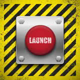 Launch button Royalty Free Stock Photo