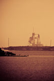 Launch of Endeavour STS-134 Royalty Free Stock Photography