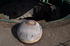 Launch mine SS-18 Satan. Stock Photo