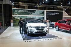 Launch of the new BMW X6 at the Singapore Motorshow 2015 Stock Image