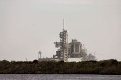 Launch pad. Lanch pad from a distance Stock Photos