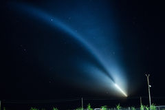 Launch rocket Soyuz-FG Stock Images