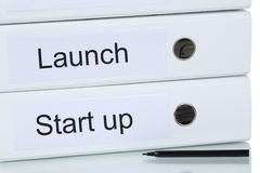 Launch of a start up business company concept Stock Photography