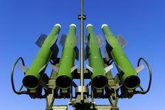 Launcher för ballistisk missil Arkivbilder