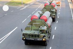 Launcher missile air defense systems S-300 Royalty Free Stock Image