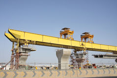 Launching Girder also called as Launching Gantry Stock Photography