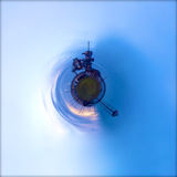 Launchpad o planeta Imagem de Stock