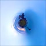 Launchpad planeten Fotografering för Bildbyråer