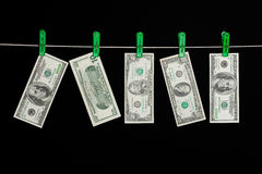 Laundered Money Royalty Free Stock Photography