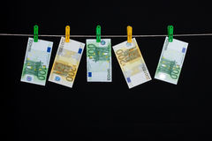 Laundered Money Royalty Free Stock Images