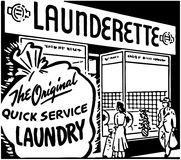 Launderette Stock Photos