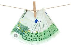 Laundering Money Royalty Free Stock Image