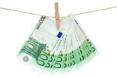 Laundering Money Royalty Free Stock Image