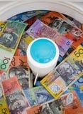 Laundering Money Royalty Free Stock Photo