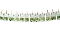Laundering money Stock Images