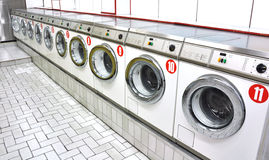 A laundrette Royalty Free Stock Image