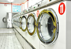 A laundrette Royalty Free Stock Photos