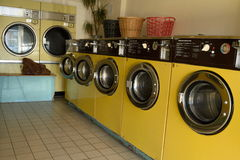Laundrette Royalty Free Stock Images