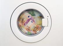laundring pengar Arkivfoto