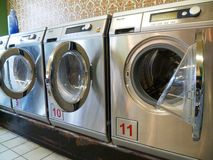 laundromat стоковая фотография