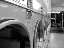Laundromat Stock Photography