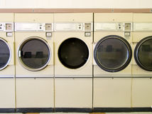 Laundromat Dryers Stock Images