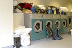 Laundromat Washer and Dryer Stock Image