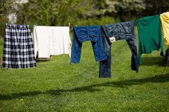 Laundry Stock Photography
