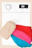 Laundry background Royalty Free Stock Images
