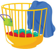 Laundry bag Stock Image